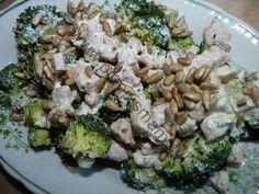 Sałatka z brokuła i kurczaka