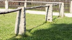 Sloupky z kamene | Chatař & Chalupář