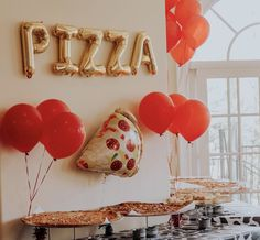Toy story, Toy story birthday party, woody and buzz, toy story themed birthd. - Toys for years old happy toys Pizza Party Themes, Kids Party Themes, Birthday Party Decorations, Party Ideas, Second Birthday Ideas, Baby 1st Birthday, 2nd Birthday Parties, Pizza Birthday Cake, Toy Story Birthday Cake