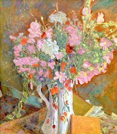 Wild Flowers, 1919 Pierre Bonnard