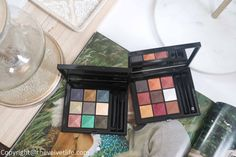 Givenchy Le 9 De Givenchy Eyeshadow Palette - NEW - The Velvet Life Pandora Offers, Arched Eyebrows, Givenchy Beauty, Couture Looks, Flat Brush, Neutral Tones, Luxury Beauty, Earth Tones, Eyeshadow Palette