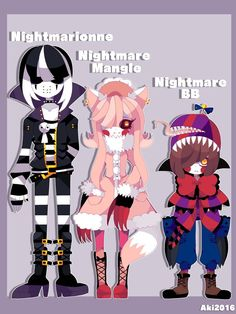 FNAF GIJINKAS PART 11 by AkiAki-San.deviantart.com on @DeviantArt