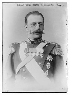 Grand Duke George Mikhailovich of Russia, murdered on January 30th of 1919 with one of his brothers Nicholas Mkhailovich and his cousins Dmitri Konstantinovich of Russia and Paul Aleksandrovich of Russia, the assassination was ordered y Lenin himself and took place at the Fortress of Sts Peter and Paul in Saint Petersburg.