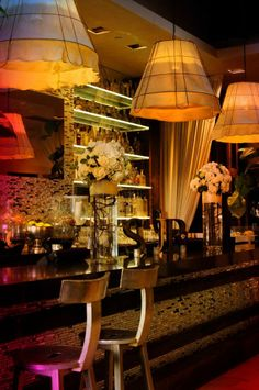 SUR Lounge, Beverly Hills.. be inspired to have your own bar at home
