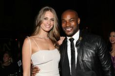 Julie Henderson and Tyson Beckford attend the Super Bowl XLVIII party hosted by Shape and Men's Fitness. Interracial Celebrity Couples, Interracial Couples, Boss Black, Black Men, Tyson Beckford, White Couple, Body Love, White Women, Couples