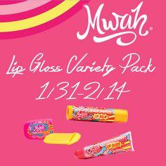 Krazy Kat Freebies: Mwah Lip Gloss Giveaway