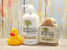 Soap & Lotion Gift Set Sweet Carolina Girl by EssentiallySouthern2