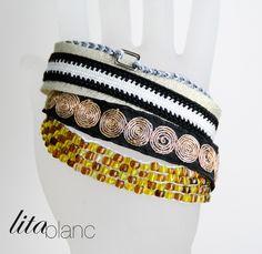 Bracelets Lita Blanc
