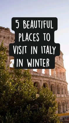 Milan Travel, Rome Travel, Things To Do In Italy, Places In Italy, Best Winter Vacations, Italy Travel Tips, Best Cruise, Countries To Visit, Visit Italy