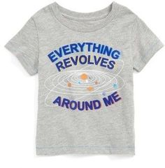 Infant Boy's Peek Everything Revolves Around Me T-Shirt