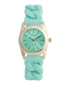 Pretty Pistachio Watch