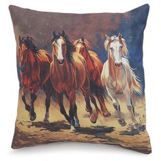 Comin At Ya Pillow - Horse Themed Gifts, Clothing, Jewelry and Accessories all for Horse Lovers | Back In The Saddle