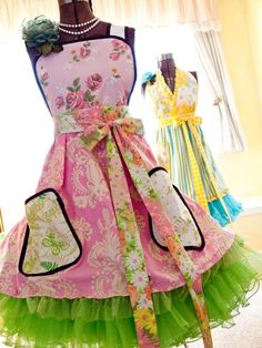 Castoff Couture apron  http://www.castoffcouture.com/products/aprons.html