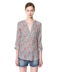 PRINTED BLOUSE Ref. 7601/723  59.90 USD