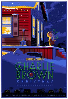 A charlie Brown Christmas regular by Laurent Durieux, via Flickr