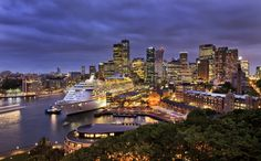 Voyager's in Town: Sydney Harbour
