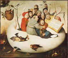 H.Bosch Concerto nell'uovo