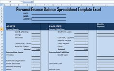 Get Professional Balance Sheet Template  Exceltemple  Excel