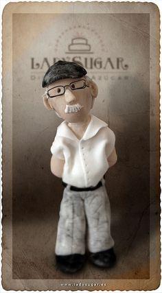 Un abuelo muy dulce by LadySugar Diseño en Azúcar, via Flickr