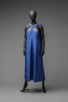 Harry Bertoia, Dress Ornaments, circa 1943, on the Evening Gown by Pipsan Saarinen Swanson. Collection of Cranbrook Art Museum. Credit: Courtesy Tim Thayer and R. H. Hensleigh