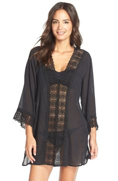 8c3ebc126f427a La Blanca  Island Fare  V-Neck Cover-Up Tunic available at