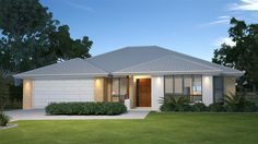 GJ Gardner Home Designs: Coolum 247 - Facade Option 1. Visit www.localbuilders.com.au to find your ideal home design in Australian Capitol Territory