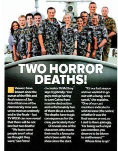 Sea Patrol, Royal Australian Navy, Mark Harmon, Tv Series, Tv Shows, The Creator, Death, It Cast, Ncis