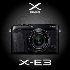 INTRODUCING THE X-E3  Fujifilm corporation are pleased to announce that the X-E3 will be released this September 2017! A rangefinder style ultra-compact mirrorless camera with outstanding image quality and enhanced handling. Utilising the X-Processor Pro for best in class color reproduction in both stills and 4K movies. Made for photographers who want to seamlessly upload photos directly to their smartphone or tablet. The X-E3 features APS-C 24.3 megapixel X-TransTM 1 CMOS III sensor and the…