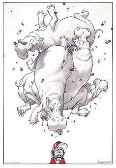 Tribute to Otomo by Julien Loïs *