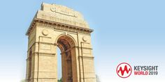 Keysight World New Delhi New Delhi, Enabling, Big Ben, Insight, Innovation, Scale, Bring It On, Inspire, World