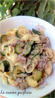 Italian Cooking, Antipasto, Pasta Dishes, Pasta Recipes, Pasta Salad, Potato Salad, Zucchini, Hamburger, Food And Drink