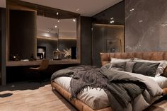 Home Building Design, Home Room Design, Dream Home Design, Home Interior Design, Mansion Interior, Dream House Interior, Casa Sexy, Minimalist Room, Aesthetic Bedroom