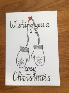 Chrismas Cards, Christmas Cards 2018, Christmas Mood, Christmas Signs, Xmas Cards, Diy Cards, Christmas Crafts, Illustration Noel, Christmas Illustration