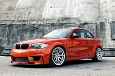 BMW 1 M Coupé - Small, Huge power courtesy of a classic BMW straight and ONLY available with a manual. Bmw M1, My Dream Car, Dream Cars, Motard Bikes, Bmw M Series, Bmw Girl, Bmw Performance, 135i, Luxury Cars