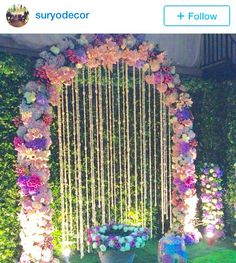Beautiful bridal shower decor #dekorasi #siraman