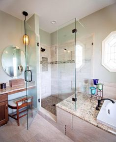 With Double Sinks And A Separate Shower And Tub Is This Amazing Bathroom Bazaar 2018