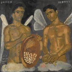 Τσαρούχης Γιάννης – Yannis Tsarouchis [1910-1989] | paletaart - Χρώμα & Φώς