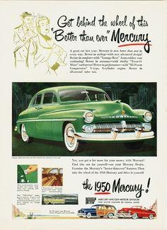 1950 Mercury Ad.