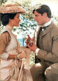 images of somewhere in time   Elise McKenna& Richard Collier - Somewhere in Time (1980).