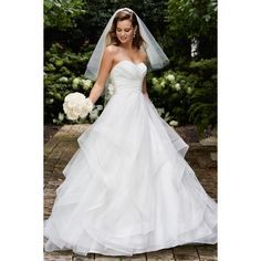 strapless chapel train wedding dresses malaysia
