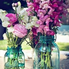 unique vases for the center peices