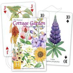 Cottage Garden Playing Card Set