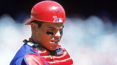 Tired of the Hall of Fame debate focusing on the character clause? ESPN has ranked the top 100 players in baseball history based purely on performance between the lines. Rangers Baseball, Texas Rangers, Mlb Players, Baseball Players, Espn, Tigers, Catcher, Puerto Rico, All About Time