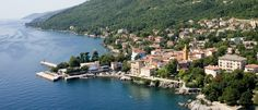 Lovran, Croatia, offers wonderful, local foods and unspoiled nature in a seafront setting. Near Opatija, Lovran has history and much more along the Riviera. Croatian Coast, Istria Croatia, 7 Continents, Wanderlust, Europe, River, World, Places, Outdoor