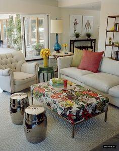 Kristen Bell - Lounge Room