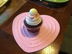 Red Velvet Truffle Cupcake