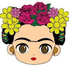 The world's catalog of creative ideas Painted Flower Pots, Painted Pots, Frida Kahlo Cartoon, Frida Kahlo Birthday, Mexican Party, Cartoon Images, Clip Art, Drawings, Disney