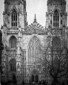 """Great Cathedrals And Abbeys on Instagram: """"West front of York Minster #yorkminster #york #yorkminster #cathedralphotography #church_masters #church_photogroup #englishcathedral…"""""""