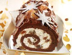 Bûche chocolat aux marrons glacésVoir la recette de la Bûche chocolat aux marrons glacés