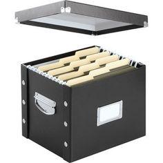 Snap-N-Store® Letter-Size File Box - Black